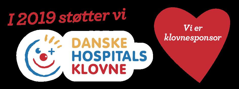 Sponspr danske hospitals Klovne